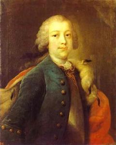 Portret van prins Boris Ivanovitsj Kurakin (1676-1727)
