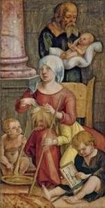 Maria Cleophas en haar familie