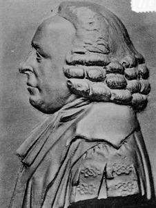 Portret van Johann Friedrich Hennert (1733-1813)