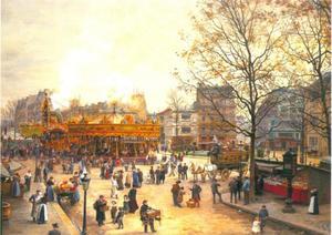 Kermis op Place Pigalle