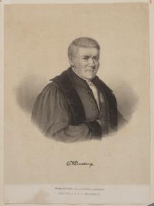 Portret van Petrus Hofman Peerlkamp (1787-1865)