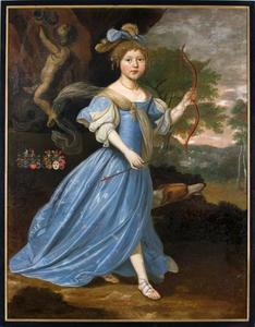 Portret van Suzanna Maria van Camstra (1670-1678)