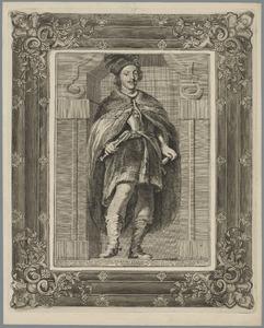 Portret van koning Ferdinand III van Bohemen en Hongarije (1608-1657)