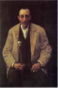 Portret van Jacobus Batavier (c. 1860-1923)
