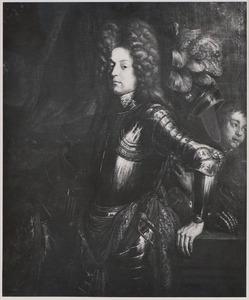 Portret van een man genaamd Hendrik Casimir II van Nassau -Dietz (1657-1696)