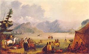 Indianen dorp