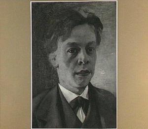 Zelfportret van Piet Meiners op ongeveer twintigjarige leeftijd