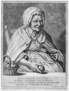 Portret van Elisabeth Precies (1681-1781)