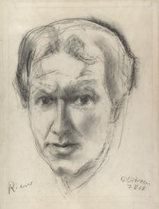 Portret van Willi Rieser (1927- )