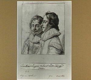 Dubbelportret van Jan Brosterhuysen (ca. 1596-1650) en Jacob van der Burg (ca. 1600-1659)