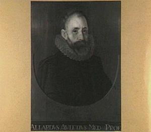 Portret van Alardus Auletius (ca. 1544-1606)