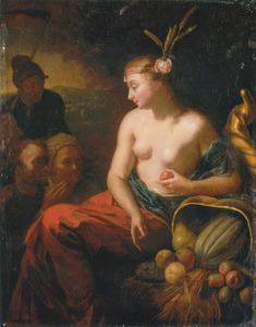 Eredienst aan de godin Ceres