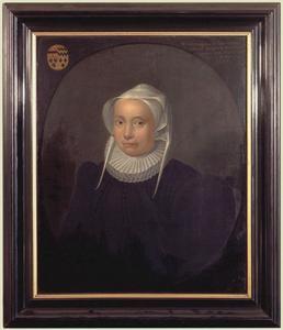 Portret van Wilhelmina van Sevender (1540-1604)