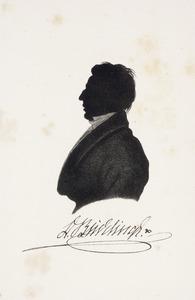 Portret van Derck Buddingh (1800-1874)