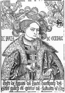 Portret van Karel van Egmond (1467-1538), hertog van Gelre