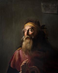 Portret van Homerus