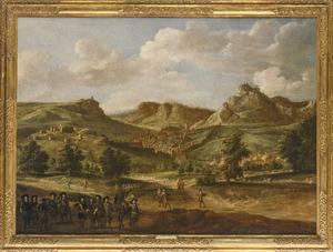 De inname van Salins door de Prins van Condé, 22 juni 1674