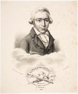 Portret van Martinus Nieuwenhuyzen (1759-1793)