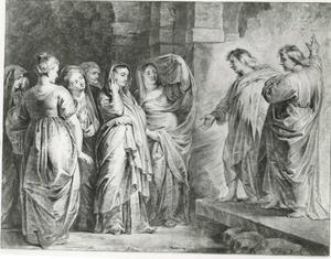 De drie Maria's aan het lege graf
