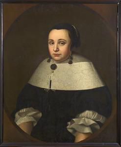 Portret van Geertruida Steenbergen