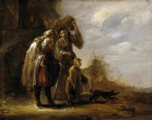 De verdrijving van Hagar en Ismaël (Genesis 21:16-21)