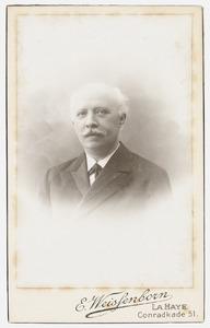 Portret van Johannes Jacobus Poortman (1854-1925)