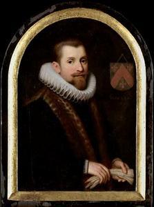 Portret van Floris Gerritsz. van Schoterbosch (....-1618)
