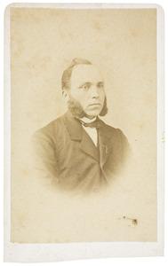 Portret van Adrianus Henricus Teljer (1832-1884)