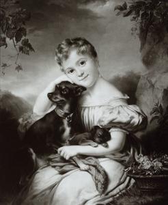 Portret van Elisabeth Machtelina van Persijn (1828-1866)