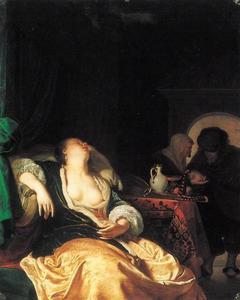 Slapende courtisane