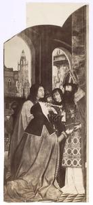 Anna en Joachim schenken hun bezittingen aan de tempel