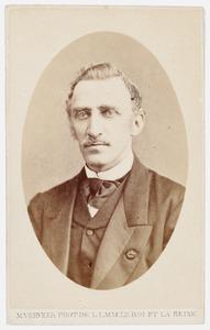 Portret van Cornelis Ascanius van Sypesteyn (1823-1892)