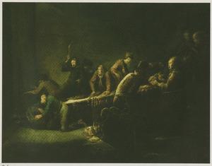 Christus drijft de geldwisselaars uit de tempel (Matteus 21:12-13; Marcus 11:15-17; Lucas19:45-46; Johannes 12:12-19)