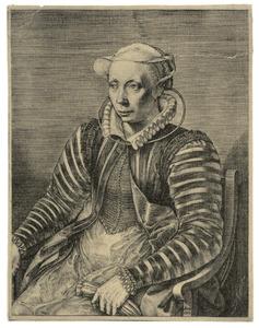 Portret van Volcxken Dierckx (?-1600)
