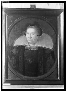 Portret van Margaretha Splinter ( -1645)