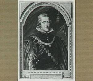 Portret van Philip IV, koning van Spanje (1605-1665)