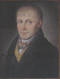 Portret van een man, mogelijk Harm Egberts IJmker (1761-1823) of Jan Blanken (1767-1846) of Jan Aalderts Slot (1788-1853)