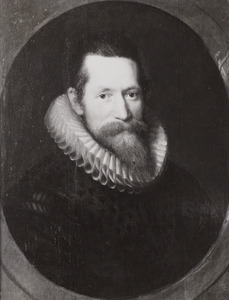 Portret van Arnout van Buchell (1565-1641)
