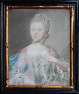 Portret van Carolina Elisabeth van Assendelft (1736-?)