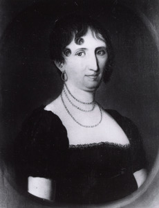 Portret van Sara Warmoldina Wilhelmina von Maneil ( -1853)