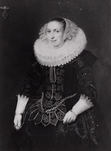 Portret van Johanna van Heyst (1599- )