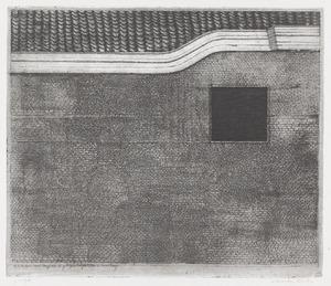 Muur met gebogen dakgoot (Nieuwe Kamp, Utrecht)