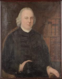 Portret van man, mogelijk pastoor Th. Hampzink (1762-1781)