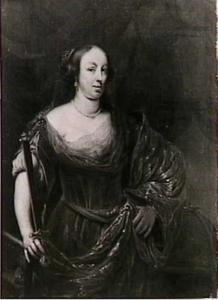 Portret van Louise Maria Gonzaga (1611-1667), koningin van Polen