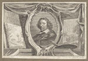 Portret van Herman Saftleven (1609-1685)