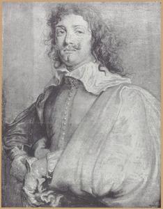 Portret van Adriaen Brouwer (1605/06-1638)