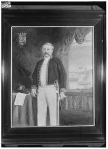 Portret van Maurits Adriaan de Savornin Lohman (1832-1899)