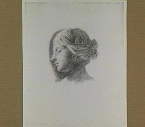 Portret van de vrouw van Caspar Netscher (?)