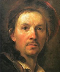 Zelfportret van Johann Kupezky
