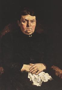 Portret van Jeannette Moulijn (1847-1922)